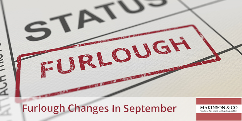 Changes to the furlough scheme this September